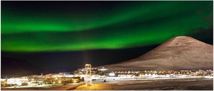 極夜の北極
