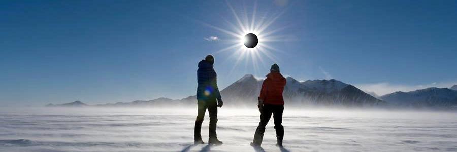 2021年・南極で皆既日食ツアー