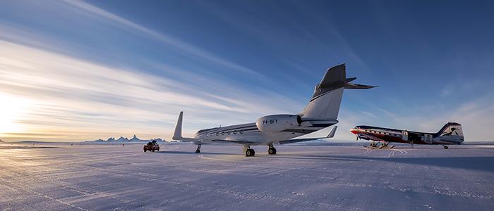 プライベートジェットで行く南極大陸9日間