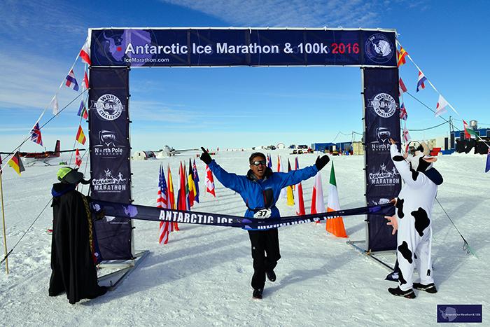 南極アイスマラソンを完走!市民ランナー坂田さんインタビュー