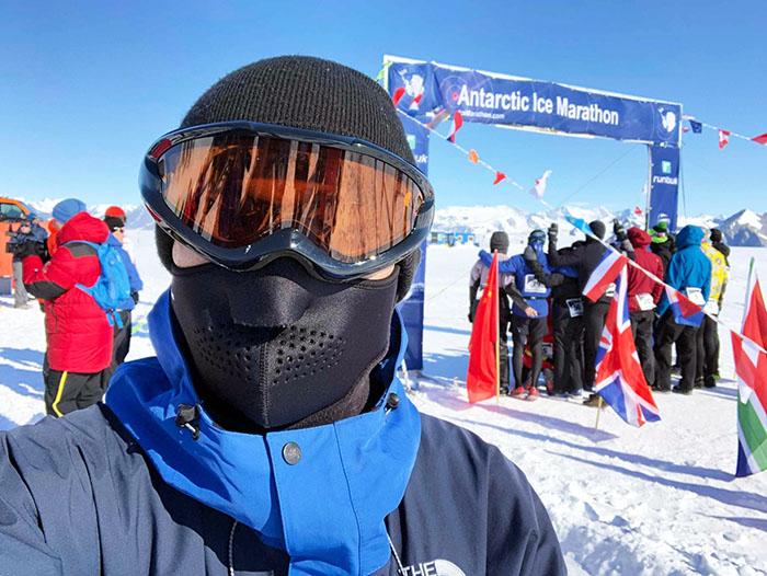 2019年「南極アイスマラソン」インタビュー
