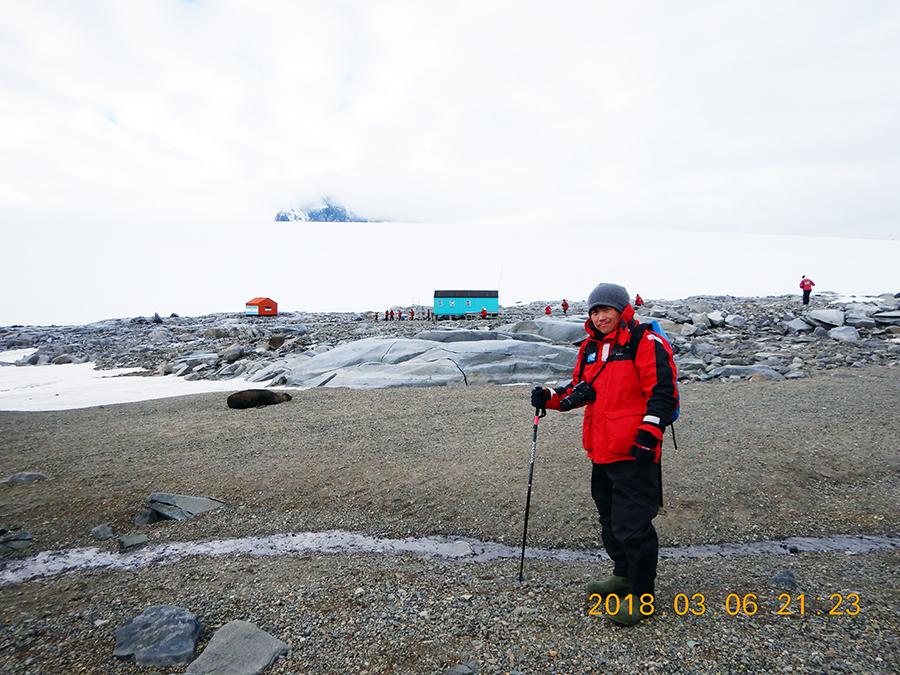 南極半島&サウスシェットランド諸島クルーズ11日間にご参加のT・Iさん