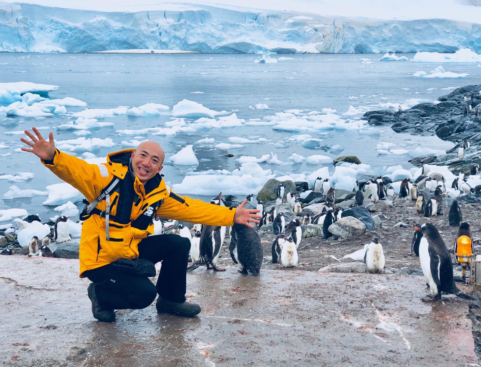 南極半島&サウスシェットランド諸島クルーズにご参加の長谷川さん