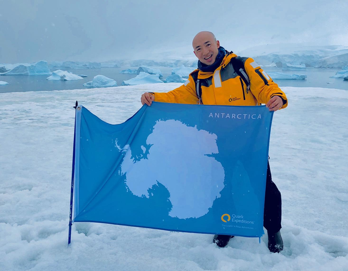 南極半島&サウスシェットランド諸島クルーズ11日間にご参加の長谷川さん