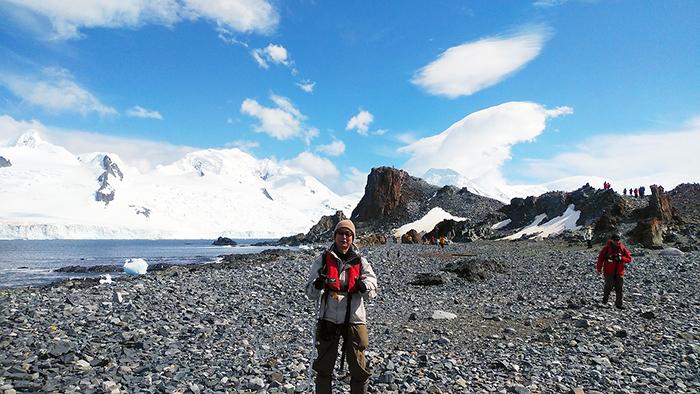 【2019年12月出発】 南極フライ&クルーズ8日間にご参加の柴田ご夫妻さん体験談&写真