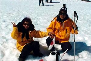 吉田さんご夫妻南極体験談