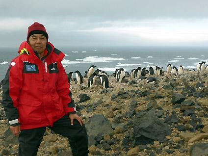 南極フライ&クルーズに参加された山部一実さん